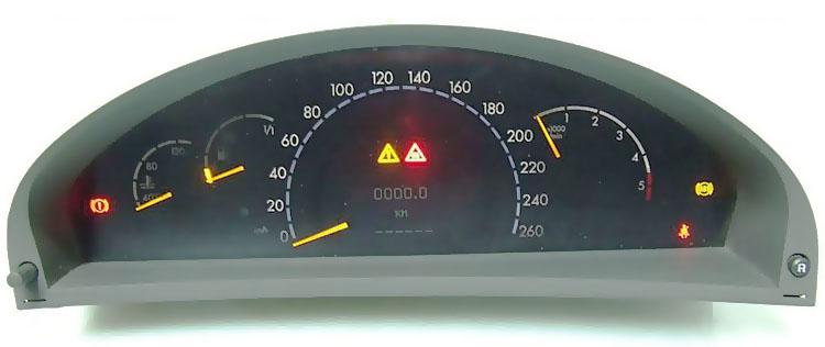 Licznik Mercedes W220
